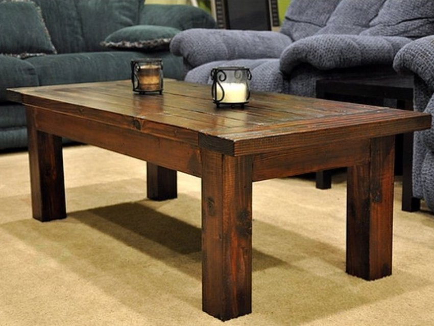 Solid wood coffee table design images photos pictures for Solid wood coffee table