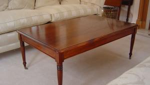 Sapele Mahogany Coffee Table