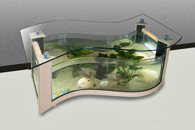 Aquarium Coffee Table Design Images Photos Pictures