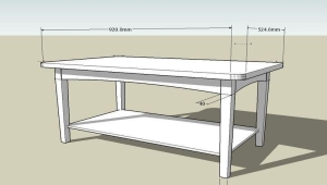 Simple Coffee Table Plan
