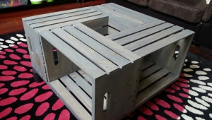 Simple Crate Coffee Table