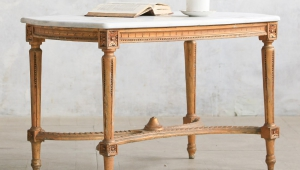 Small Coffee Table Vintage Style