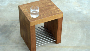 Small Coffee Table With Magazine Bars