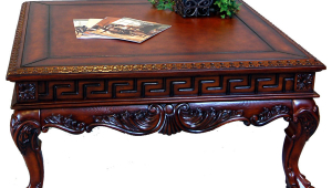 Square Antique Coffee Table