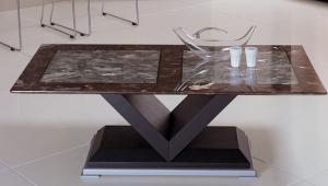 Stone V Base Coffee Table