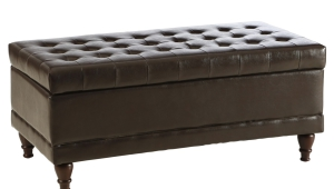 Storage Tufted Ottoman Coffee Table