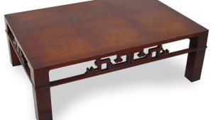Strict Mahogany Coffee Table