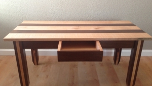 Striped Maple Coffee Table