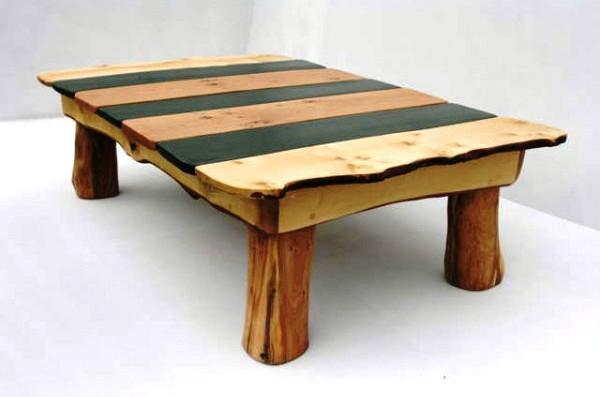 Stripy Slate Coffee Table