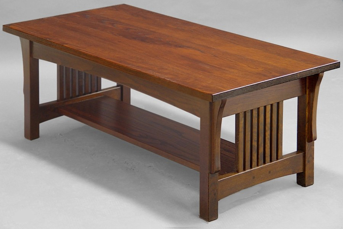 Suitable Mission Coffee Table - Mission Style Coffee Table Design Images Photos Pictures