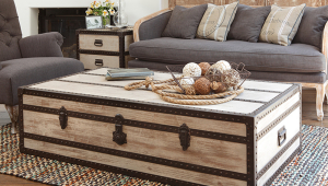 Traditional Trunk Coffee Table