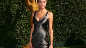 Tricia Helfer HD Background