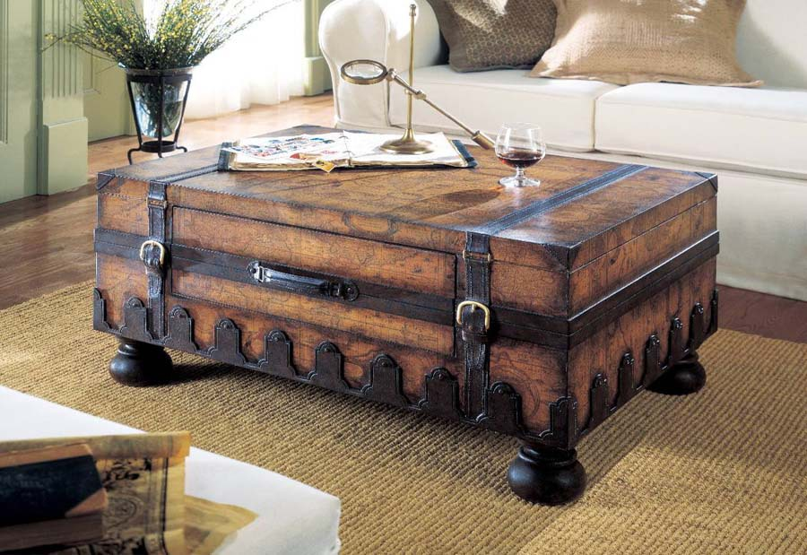 Trunk Coffee Table Design Images Photos Pictures