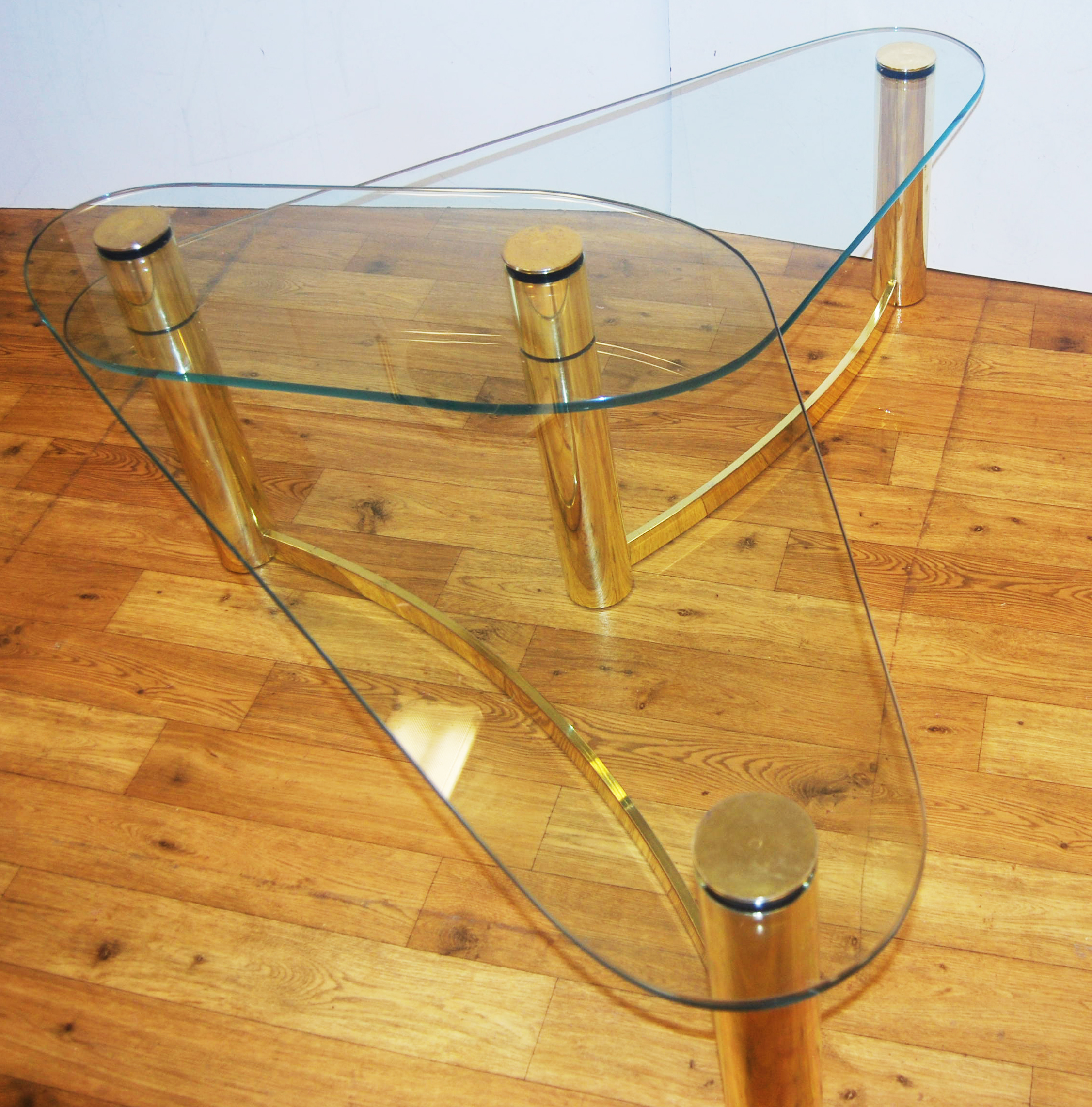 Save Or Splurge Brass And Glass Coffee Tables: Brass Coffee Table Design Images Photos Pictures