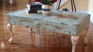 Vintage Shabby Coffee Table