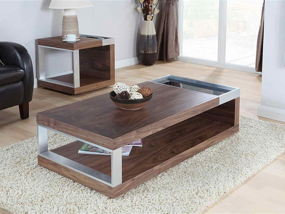 Walnut Coffee Table Design Images Photos Pictures