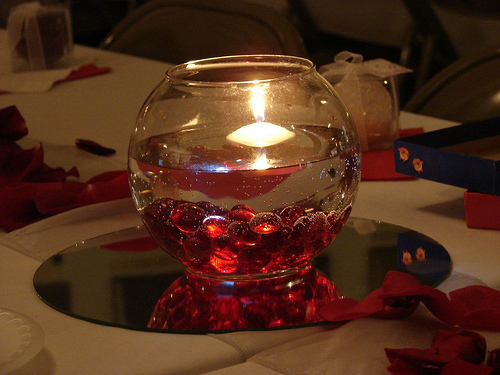 Wedding Coffee Table Centerpieces