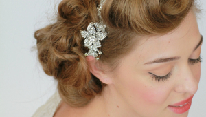 Wedding Hairstyles For Straight Hair Vintage