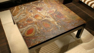 Wonderful Stone Coffee Table
