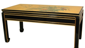Wooden Asian Coffee Table