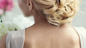 Blonde Stylish Bridal Hair