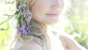 Bohemian Blooms Wedding Hairstyles Using Flowers1
