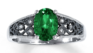 Emerald Wedding Rings