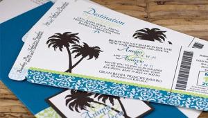 Invitation For Beach Wedding