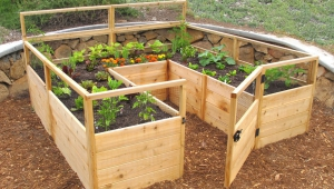 Making Raised Garden Beds