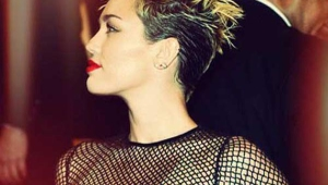 Miley Crus Short Spiky Hair