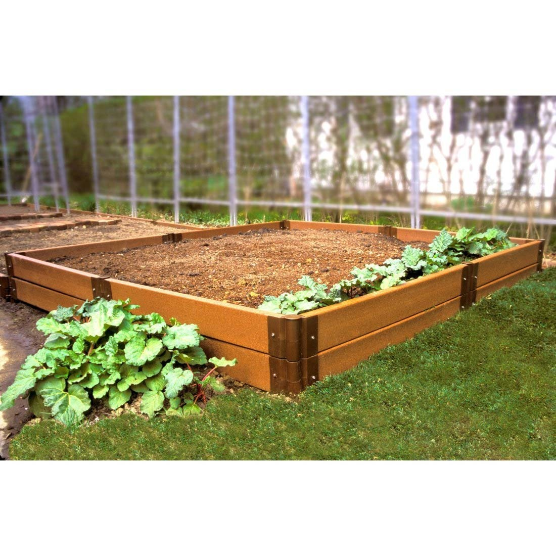 12 x 12 vegetable garden design for Garden design kits