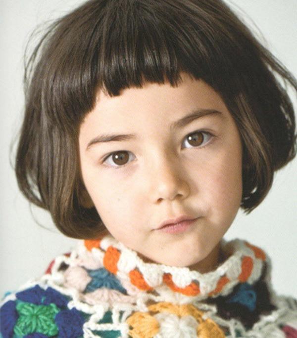 how to cut kids girl hair