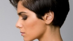 Short Black Hairstyle Idea