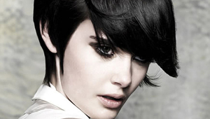 Short Black Stylish Hair