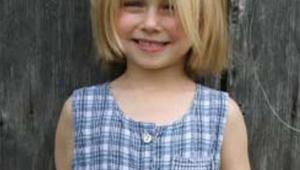 Short Blonde Hair Cut For Girl Kid