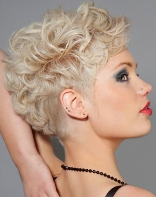 Awe Inspiring Stylish Short Blonde Hairstyles Hairstyles For Women Draintrainus