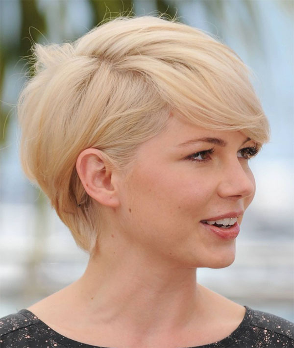 Pleasing Very Cute Short Blonde Hair Cut Hairstyles For Women Draintrainus