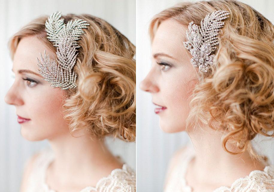 Vintage Bridal Hair Combs