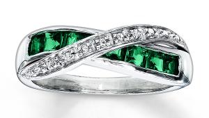 Vintage Emerald Rings