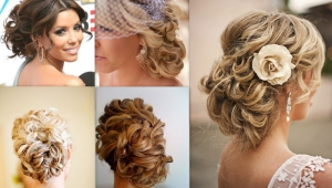 Wedding Hair Side Bun With Veil