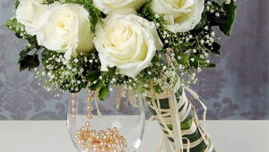 White Bridal Bouquet Design
