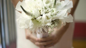 White Cute Bridal Flowers