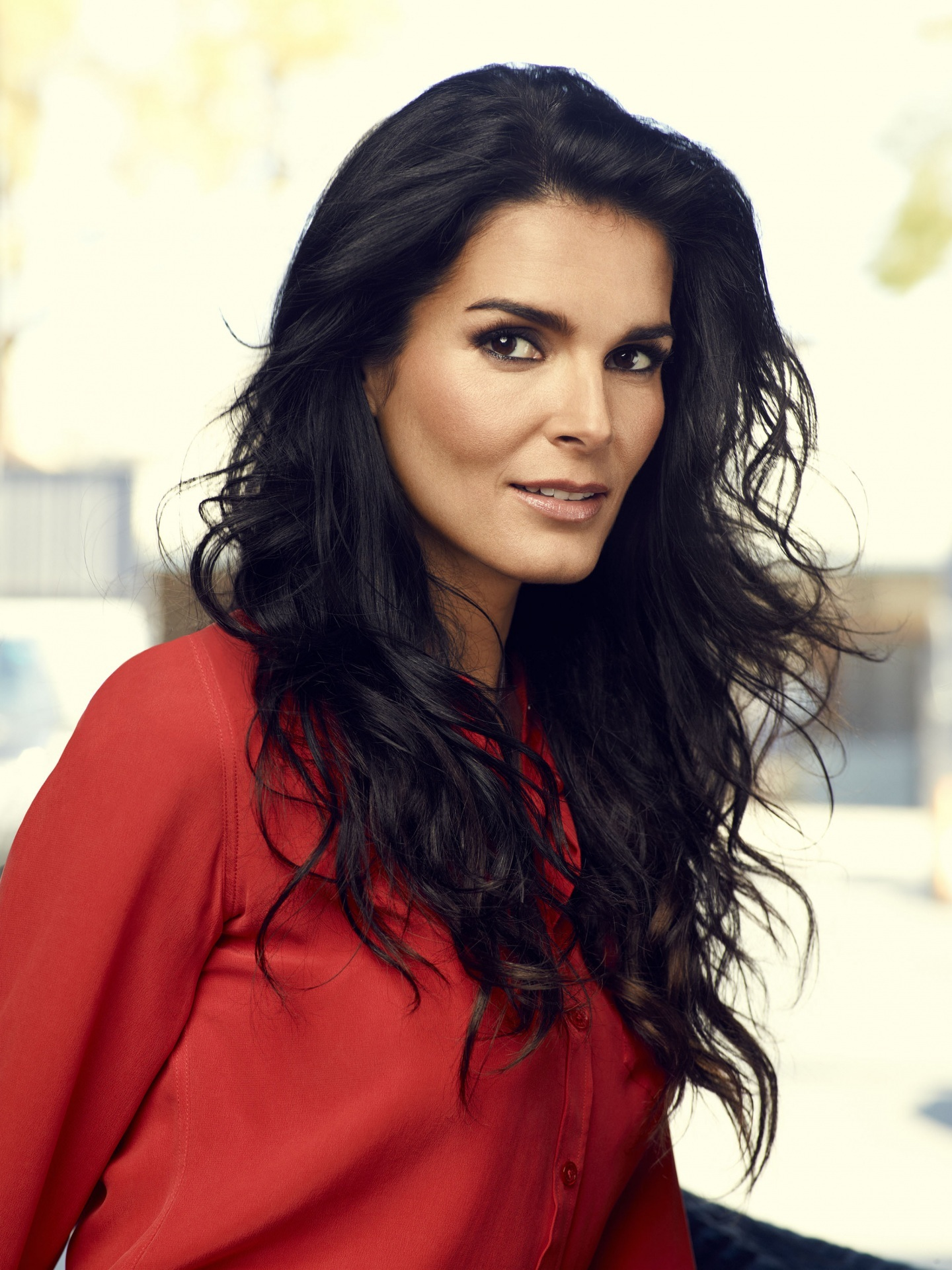 Angie Harmon Android Wallpapers
