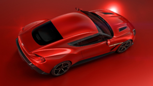 Aston Martin Vanquish Zagato Concept Images