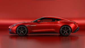 Aston Martin Vanquish Zagato Concept Pictures