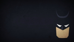 Batman Blo0p Minimalism