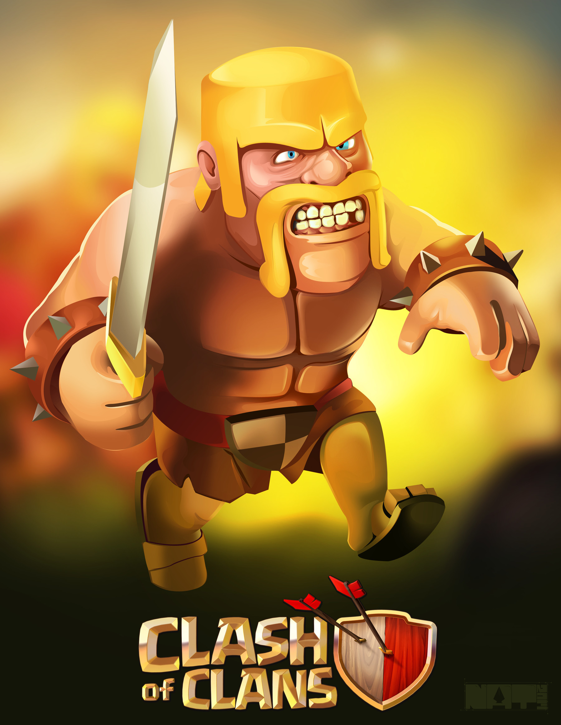 Clash Of Clans HD Iphone