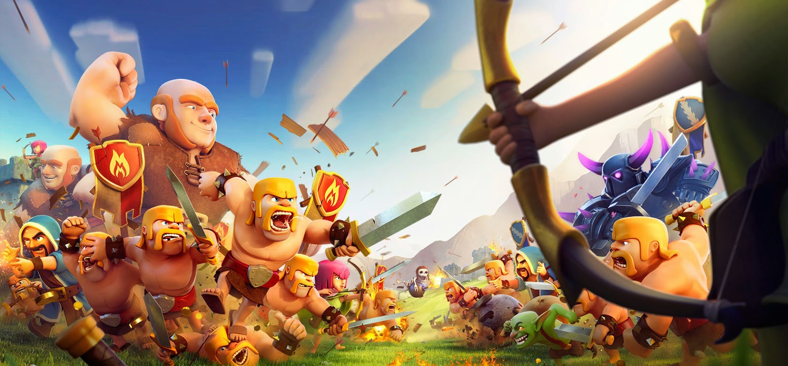 Barbarian Clash Of Clans Hd Hd Games 4k Wallpapers: Clash Of Clans Wallpapers Images Photos Pictures Backgrounds