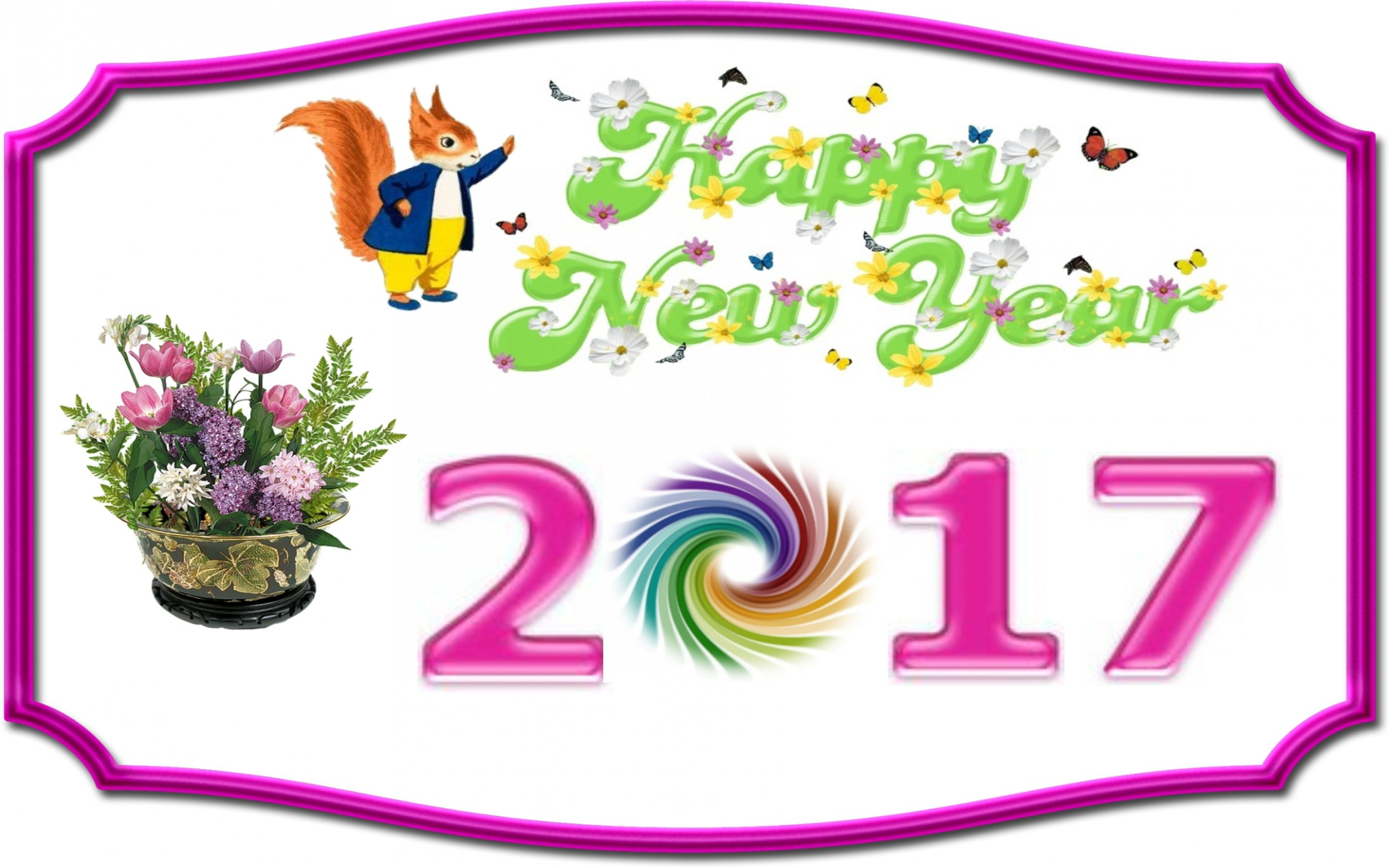 Happy New Year 2017 Wallpapers Images Photos Pictures Backgrounds