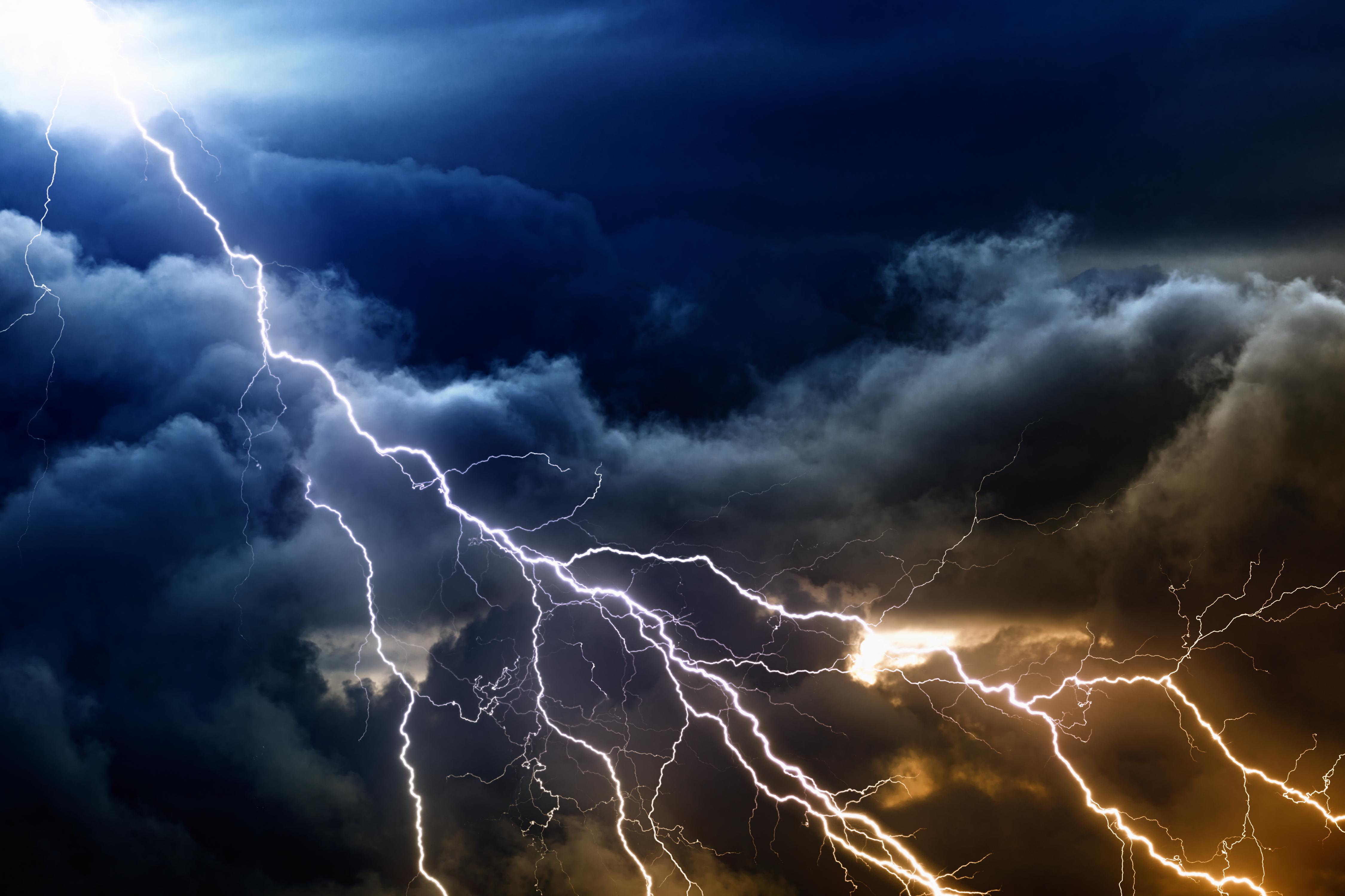 Lightning desktop - Lightning wallpaper 4k ...
